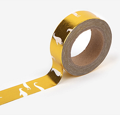 gold star masking tape [gold masking tape, star masking tape, gold star tape]
