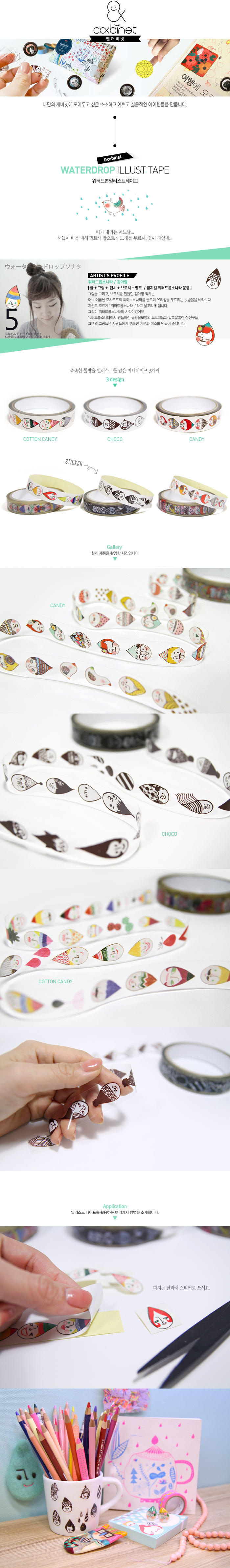 pretty pattern cello tape [decorated cellotape, pattern cellotape, the magic notebook]