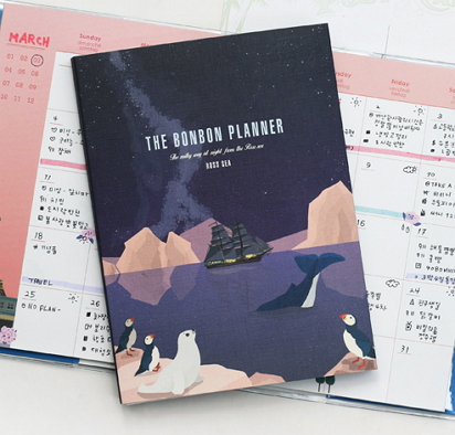 The Bonbon Mini Planner - Ross Sea