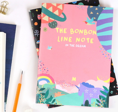pink cute notebooks [pink notebook, cute notebook, pink notebooks]
