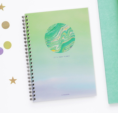 space stationery notebooks [space stationery, space notebooks, planet notebook]