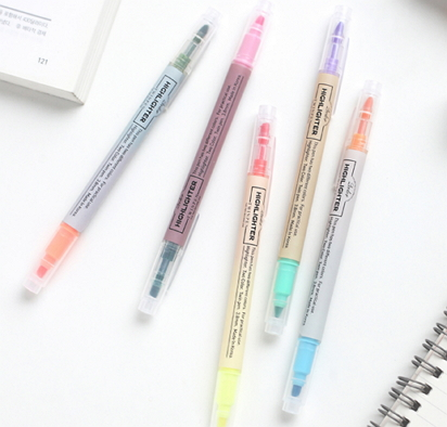 fluorescent highlighter pens [pastel pens, fluorescent pens, pens highlighter]