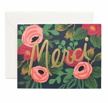 rifle paper thank you cards [rifle paper co, rifle paper thank you cards, thank you cards]