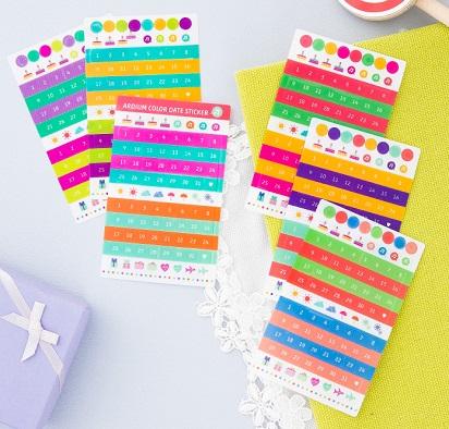 calendar diary stickers [calendar stickers, stickers for diary, diary stickers]