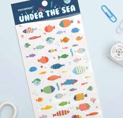 fish stickers stationery [fish stickers, fish stationery, stickers stationery]
