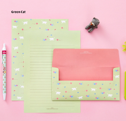 cat writing paper [writing paper, cat writing paper, cat letter paper]