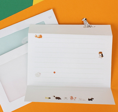 the magic notebook | writing paper | somssi animal letter